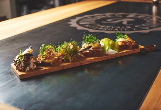 Full planke med Smørbrød
