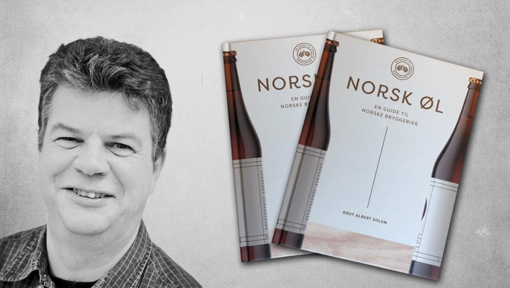 Øl-skribent Knut Albert Solem inviterer venner