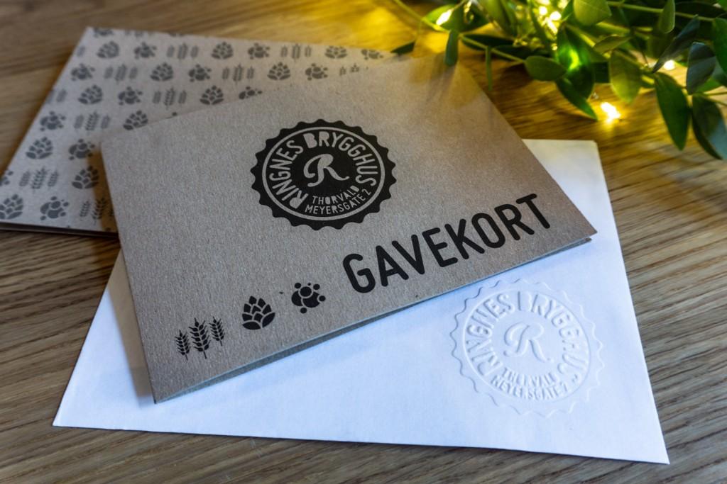 Årets julegave! Gavekort på Ringnes Brygghus