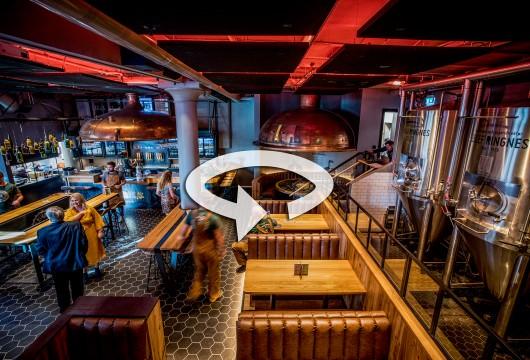 Bilde av baren med en 360-vising
