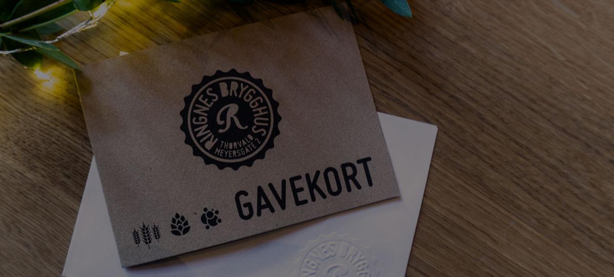 Gavekort_Ringnes Brygghus